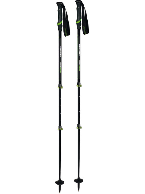 Komperdell Hikemaster Powerlock - Bâtons - noir